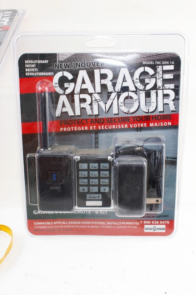 Garage Armour Garage Door Opener Security Kit With Additional Remote