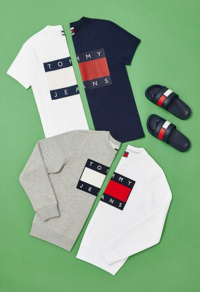 tommy hilfiger ss16 collection 90s sweatshirts tees sliders   Supernatural Style