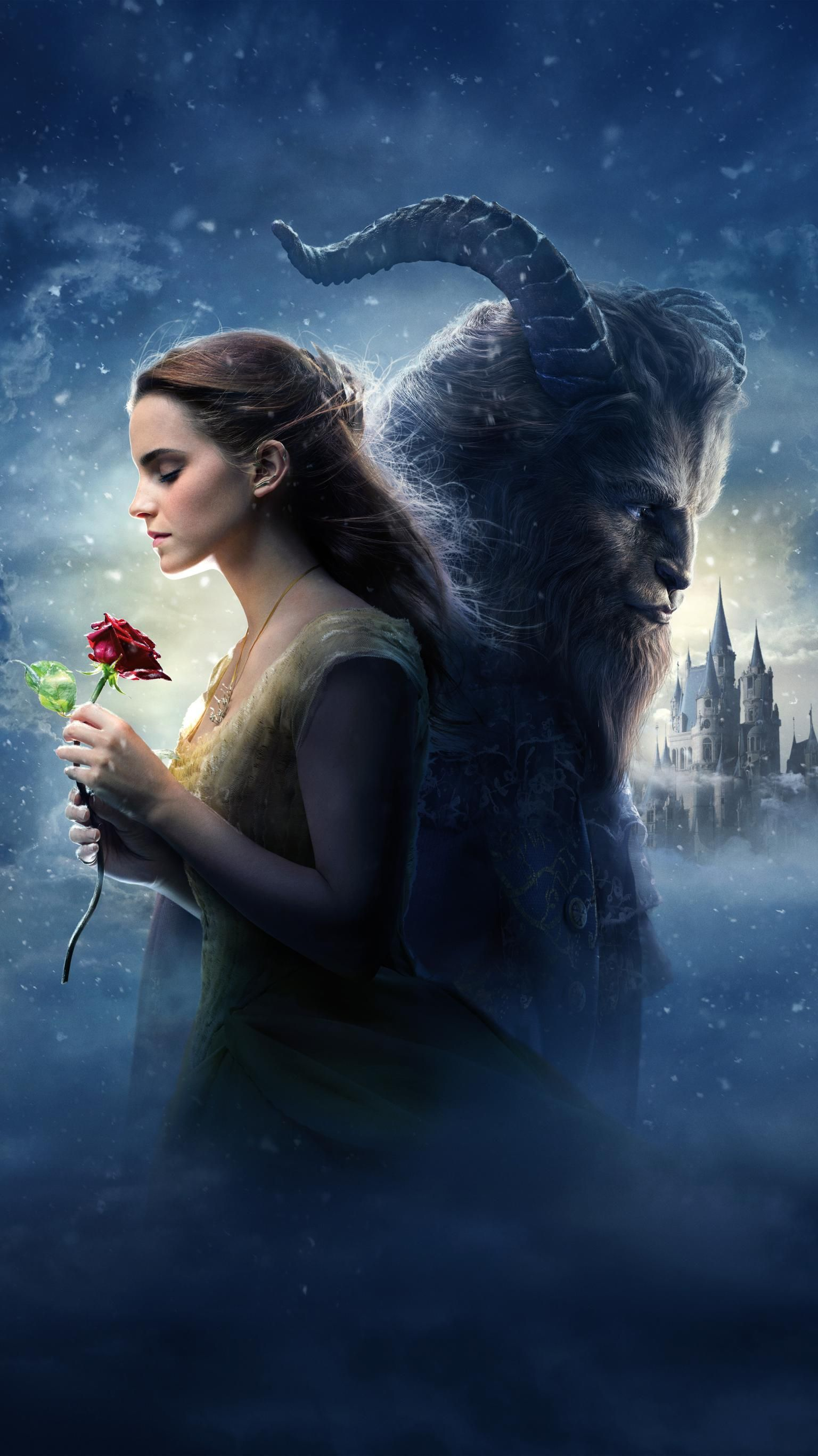 Beauty And The Beast 2017 Phone Wallpaper Moviemania
