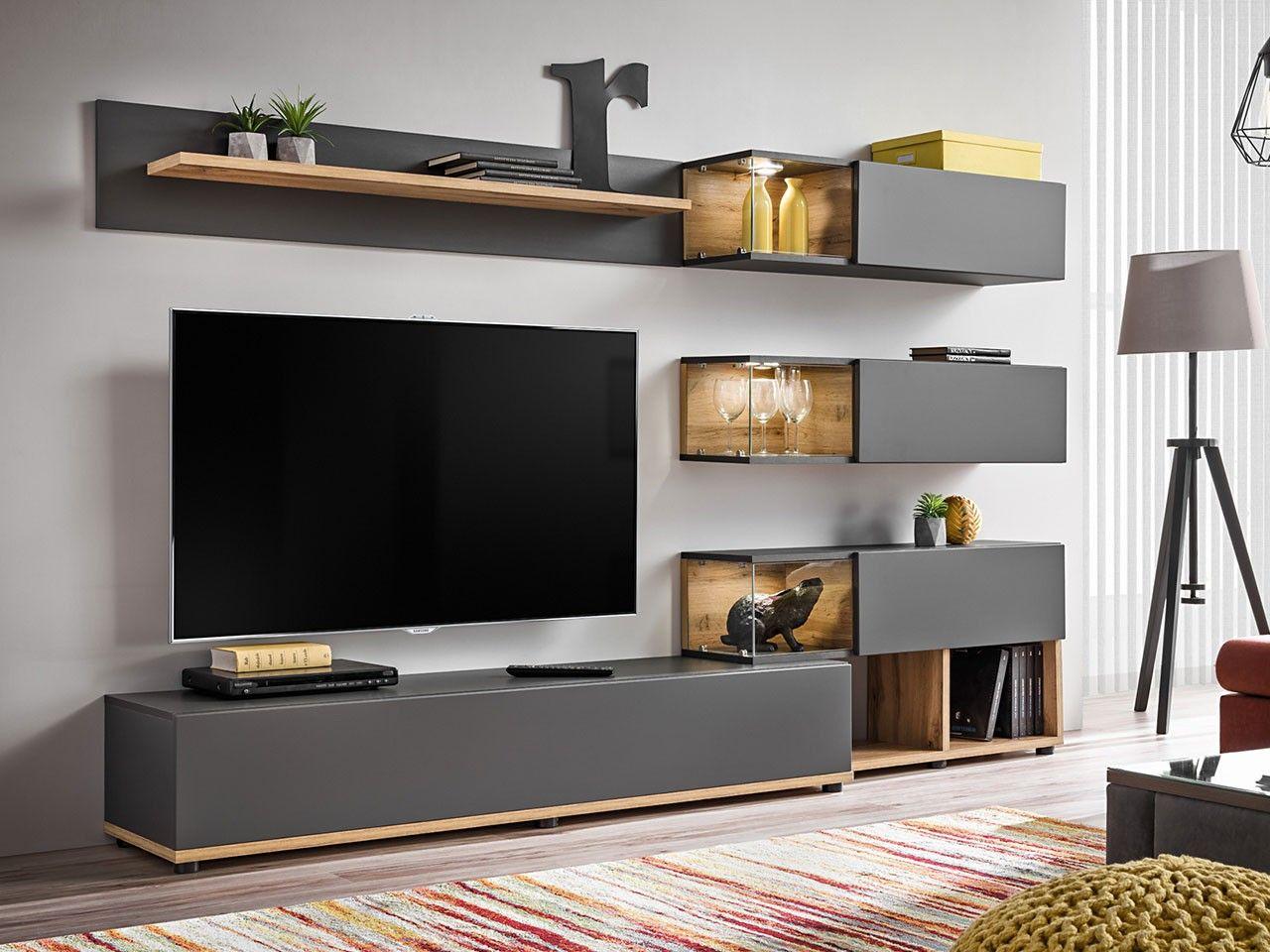 Wohnwand Zanzibar Wohnzimmer Design Wohnen Wohnzimmer Grau