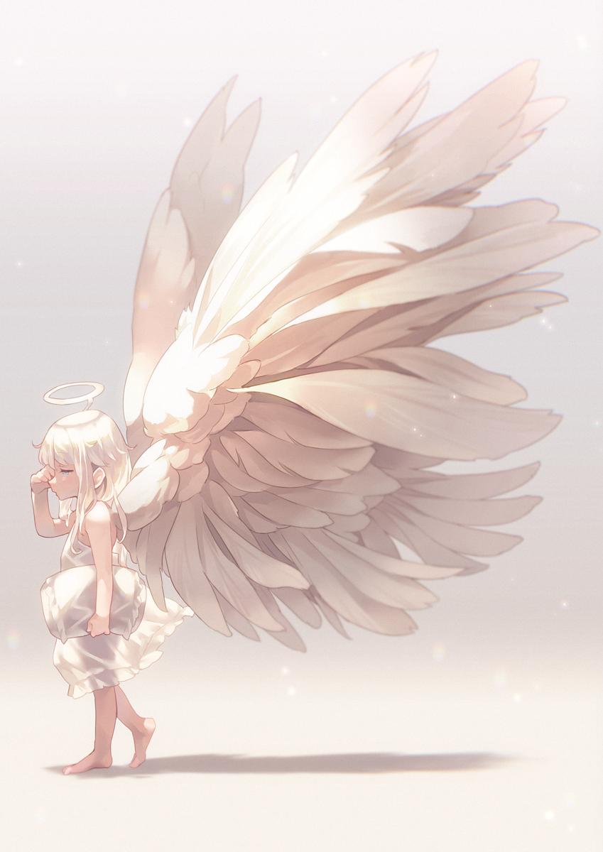Photo of anime girl angel