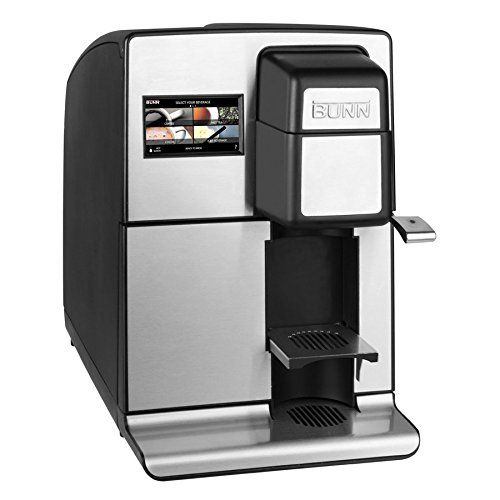 Bunn My Cafe Mco Single Serve Cartridge Commercial Automatic Brewer Black 120v 60 1ph Review Coffee Brewer Coffee Maker Single Serve
