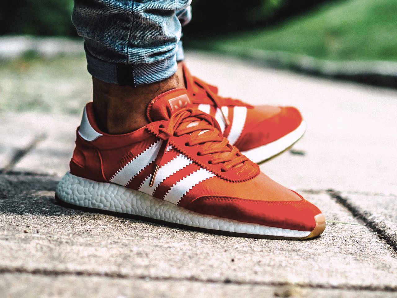 best service 1a59e 3d703 Adidas Iniki Runner Boost - Red - 2017 (by indy.sneakers)