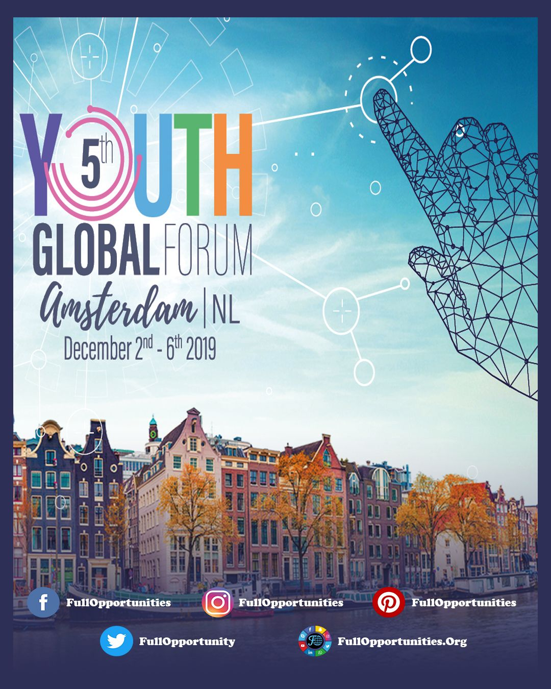 Applications are now open for 5th Youth Global Forum