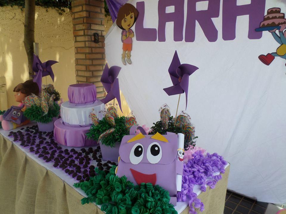 decoração Dora Aventureira
