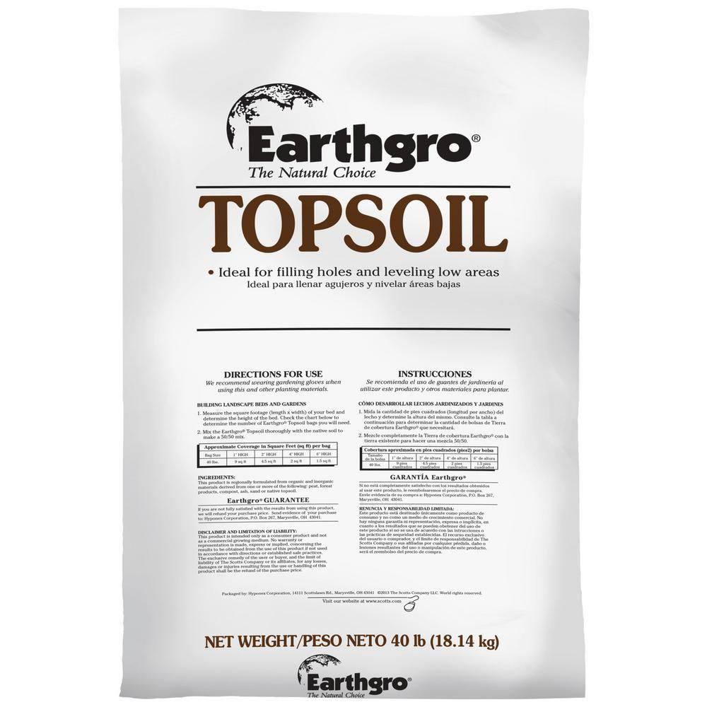 40 Lb Top Soil 71140180 Top Soil Lawn Care Garden Supplies