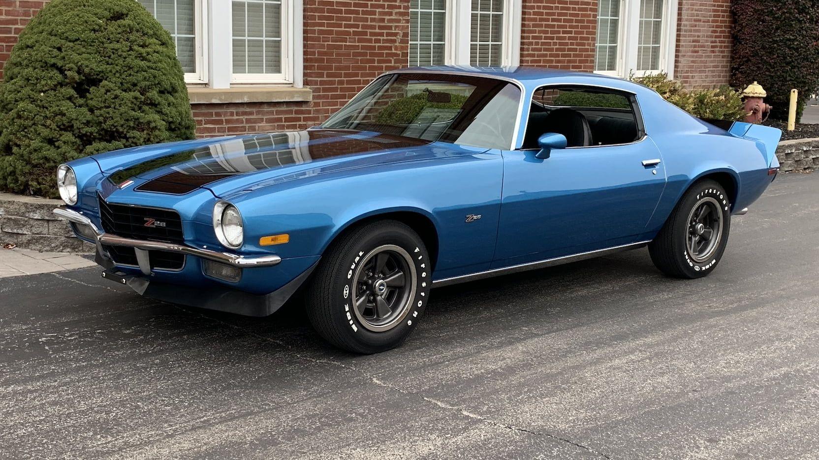 1972 Chevrolet Camaro Z28 Presented As Lot S100 At Las Vegas Nv Camaro Chevy Camaro Chevrolet
