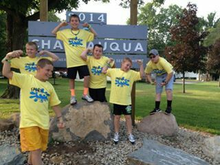 Boys at Church Camp 2014