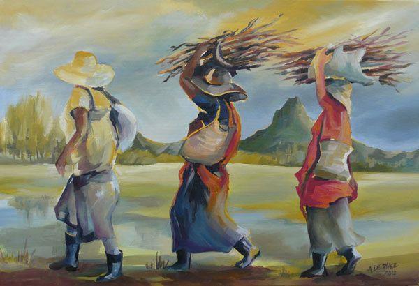 Anne Delplace - Artiste Peintre Huile en