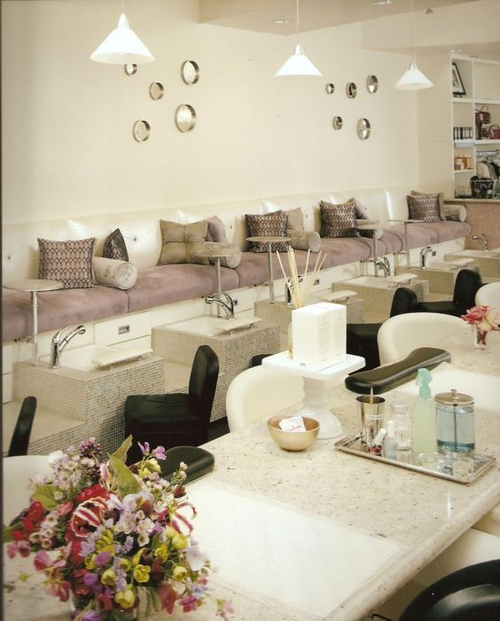 Nail Salon Interior Design Ideas missylui nail salon anne sophie poirier 7 chi nail bar spa luxury nail salon designs Luxury Nail Salon Interior Design Google Search