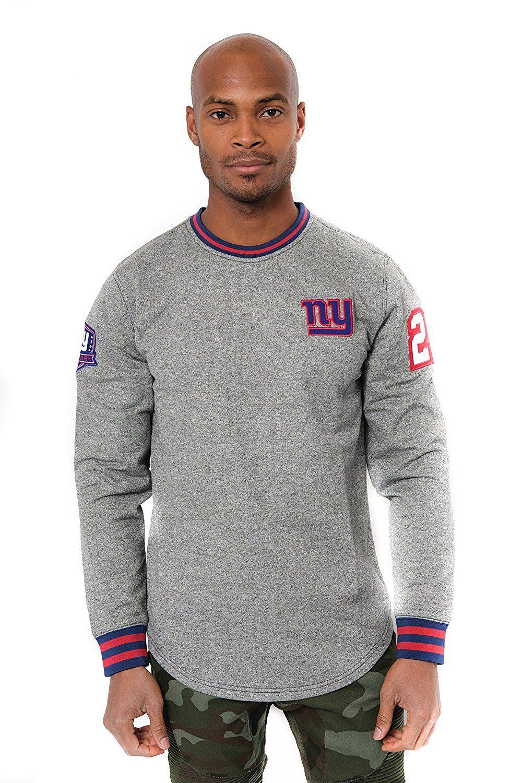 huge discount 8300b c2381 Amazon.com : NFL Men's New York Giants Fleece Sweatshirt ...