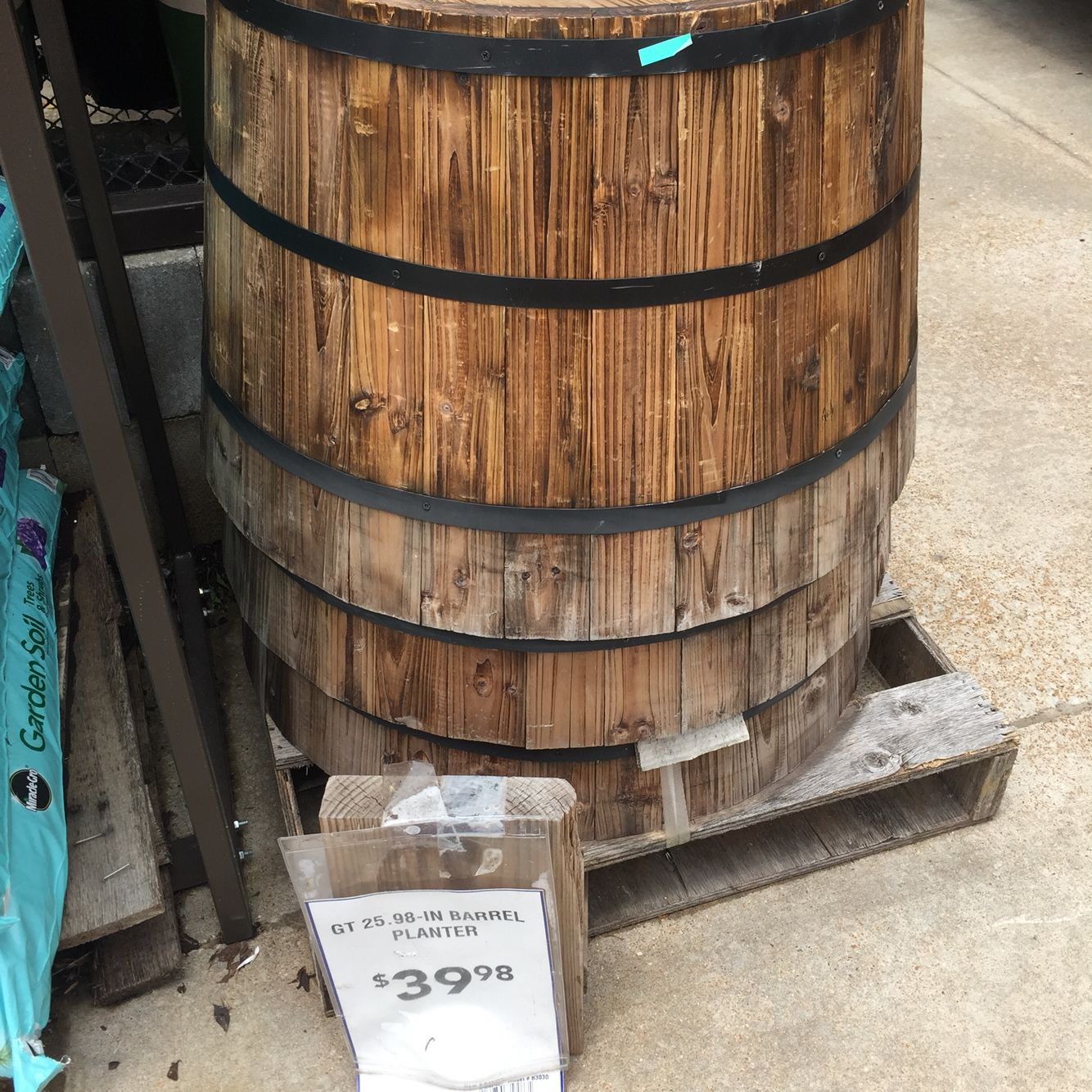 Barrel Planter Lowes Barrel Planter Barrel Glassware