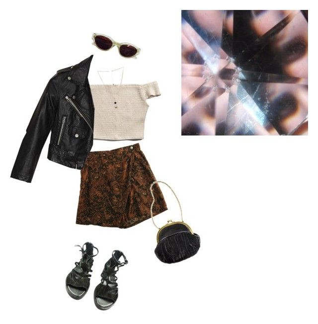 """""""."""" by spamotron ❤ liked on Polyvore featuring moda, Abercrombie & Fitch, Zucca, Nasty Gal, RetroSuperFuture, Ann Demeulemeester, Gathering Eye, women's clothing, women's fashion e women"""