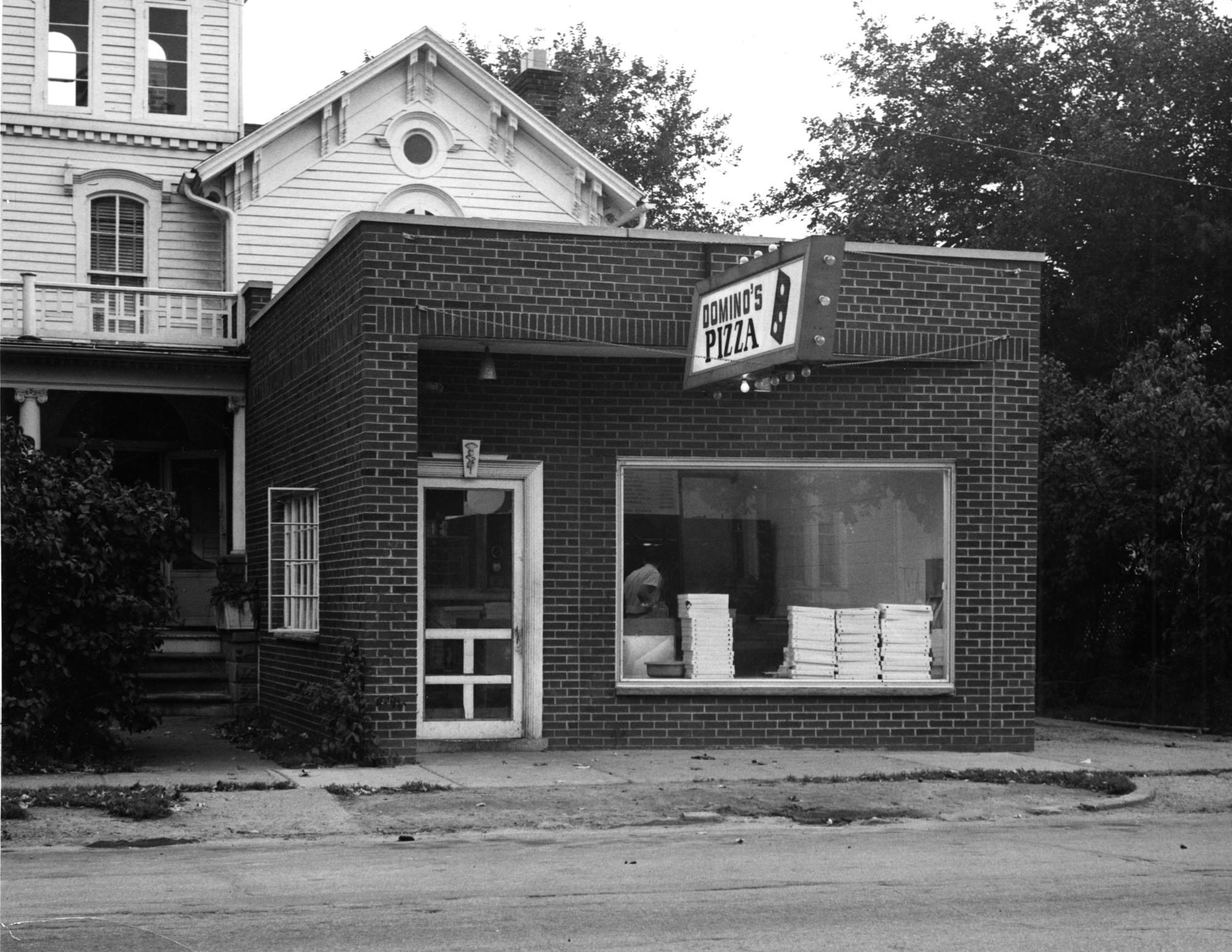 One Of The First Dominos Stores In Ypsilanti Mich