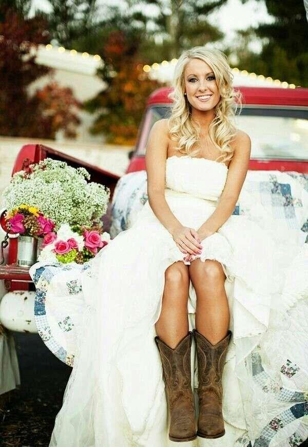 buy popular be849 07ac9 Matrimonio country chic - Abito da sposa country style ...