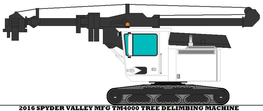 2016 Spyder Valley Mfg TM4000 Tree Delimbing Machi by mcspyder1.deviantart.com on @DeviantArt