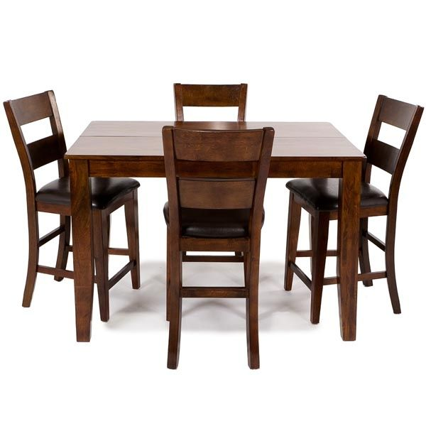 Dining   Casual Dining Sets   Sydney 5 Piece Pub   Living Room, Dining Room