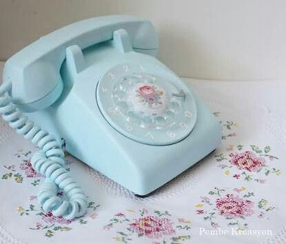Eski Telefon Boyama Crafts
