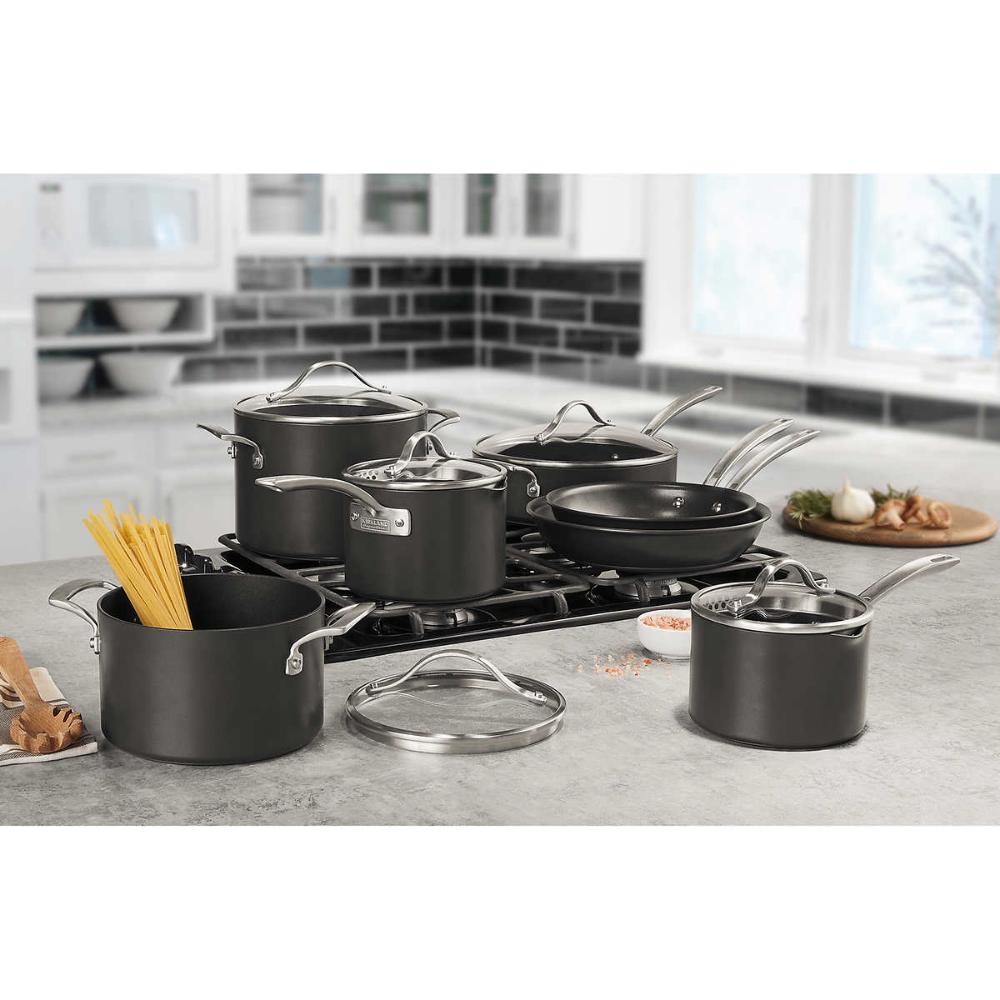 Kirkland Signature 12 Piece Hard Anodized Cookware Set In 2020