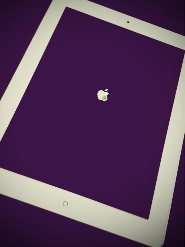 Purple iPad from @elliottcollins