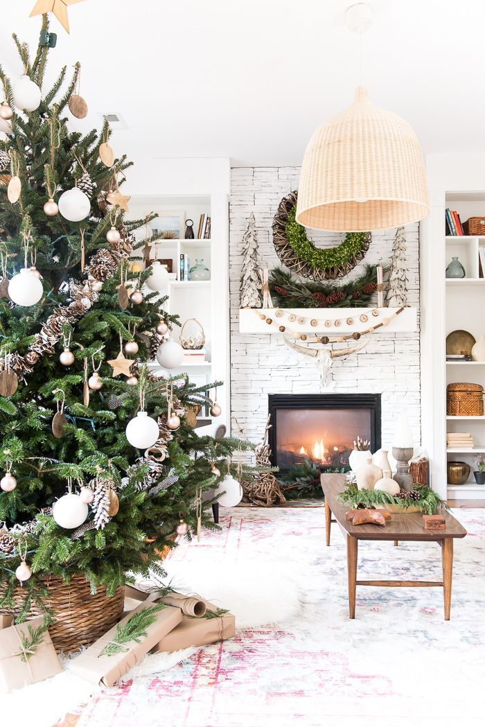 this christmas home tour is simply amazing with neutral christmas decor i love every inch and how she decorated her home must see