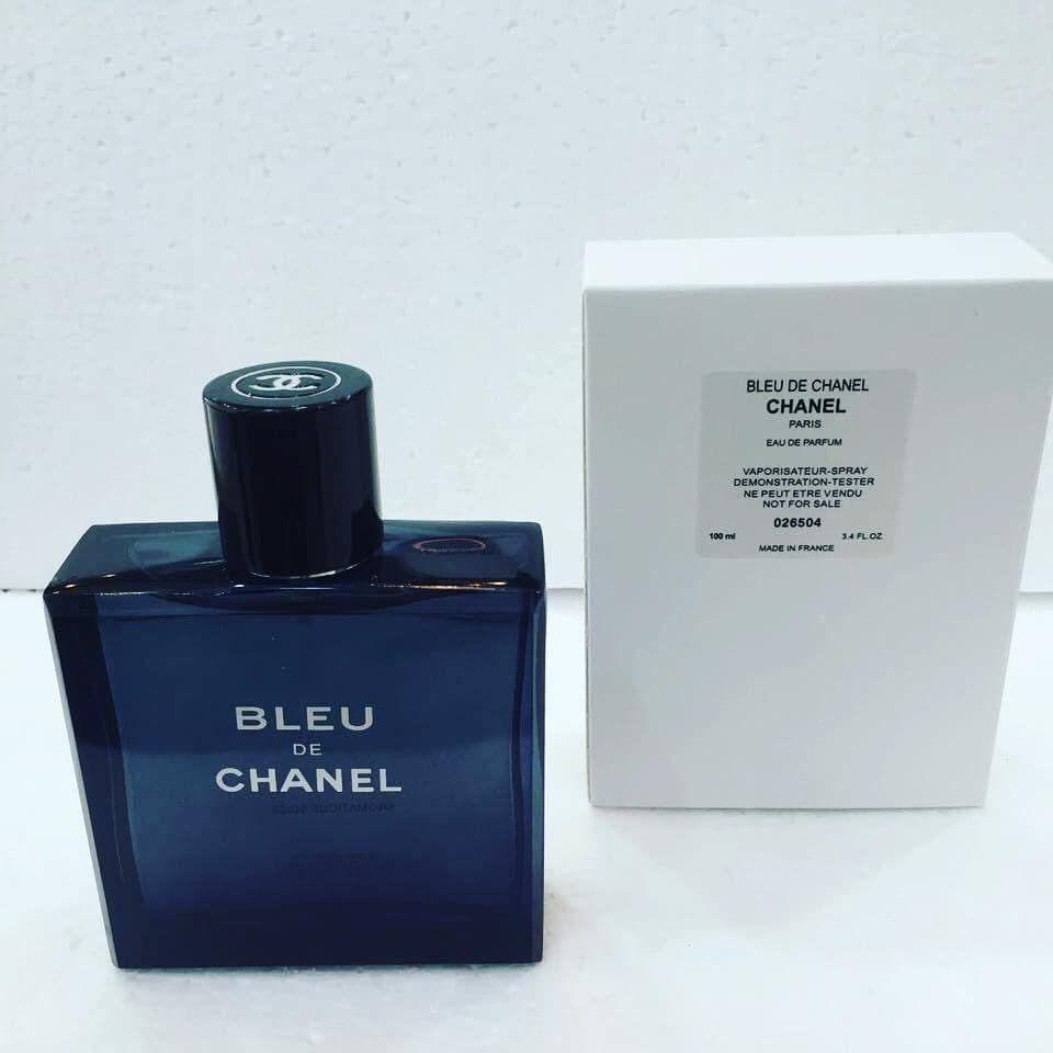 Bleu De Chanel Parfum Testeur Original Paiement à La Livraison Dans