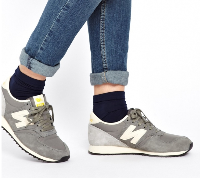 new balance 420 gris vintage