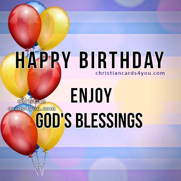Birthday Wishes Christian Image