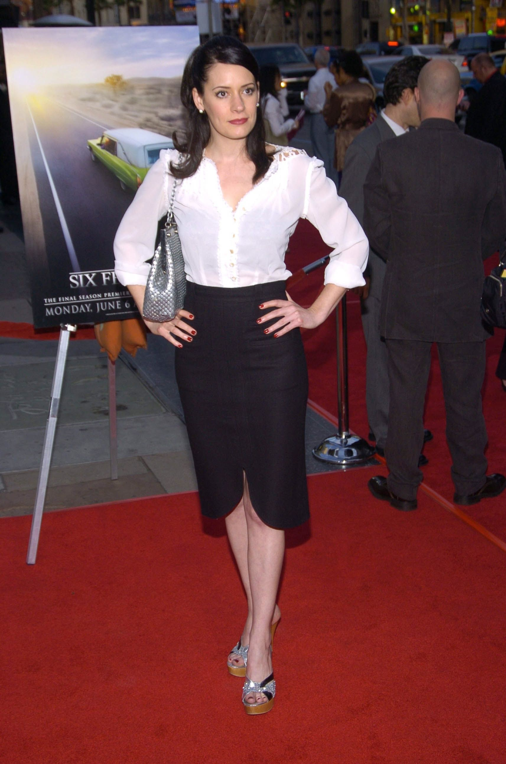Paget Brewster A Red Carpet Event 4 Six Feet Under
