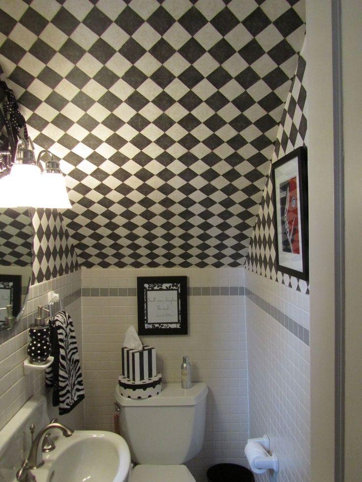 Lighting Basement Washroom Stairs: BATHROOMS UNDER STAIRS