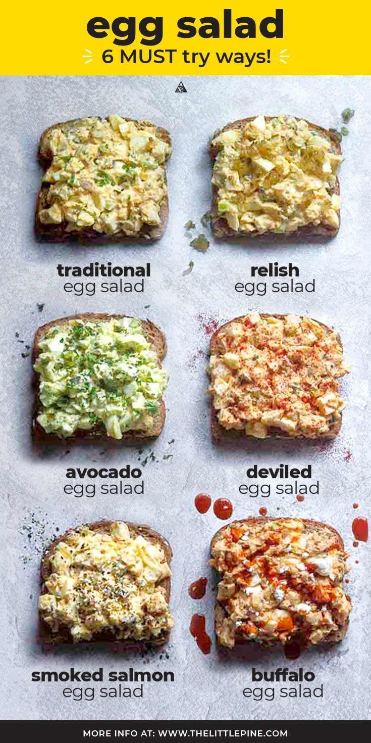 Easy Egg Salad (+6 Variations!)