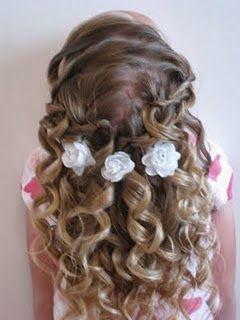 Los mejores peinados para primera comunion