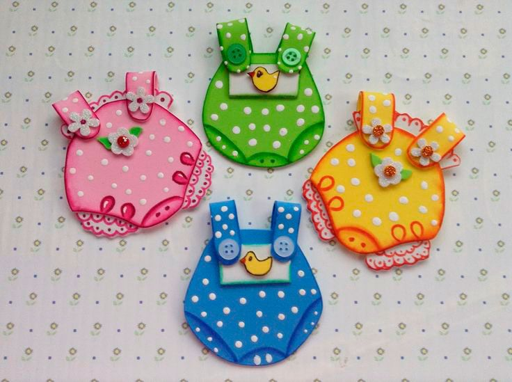 Con foami podr s crear manualidades en foami para beb s for Manualidades decoracion bebe