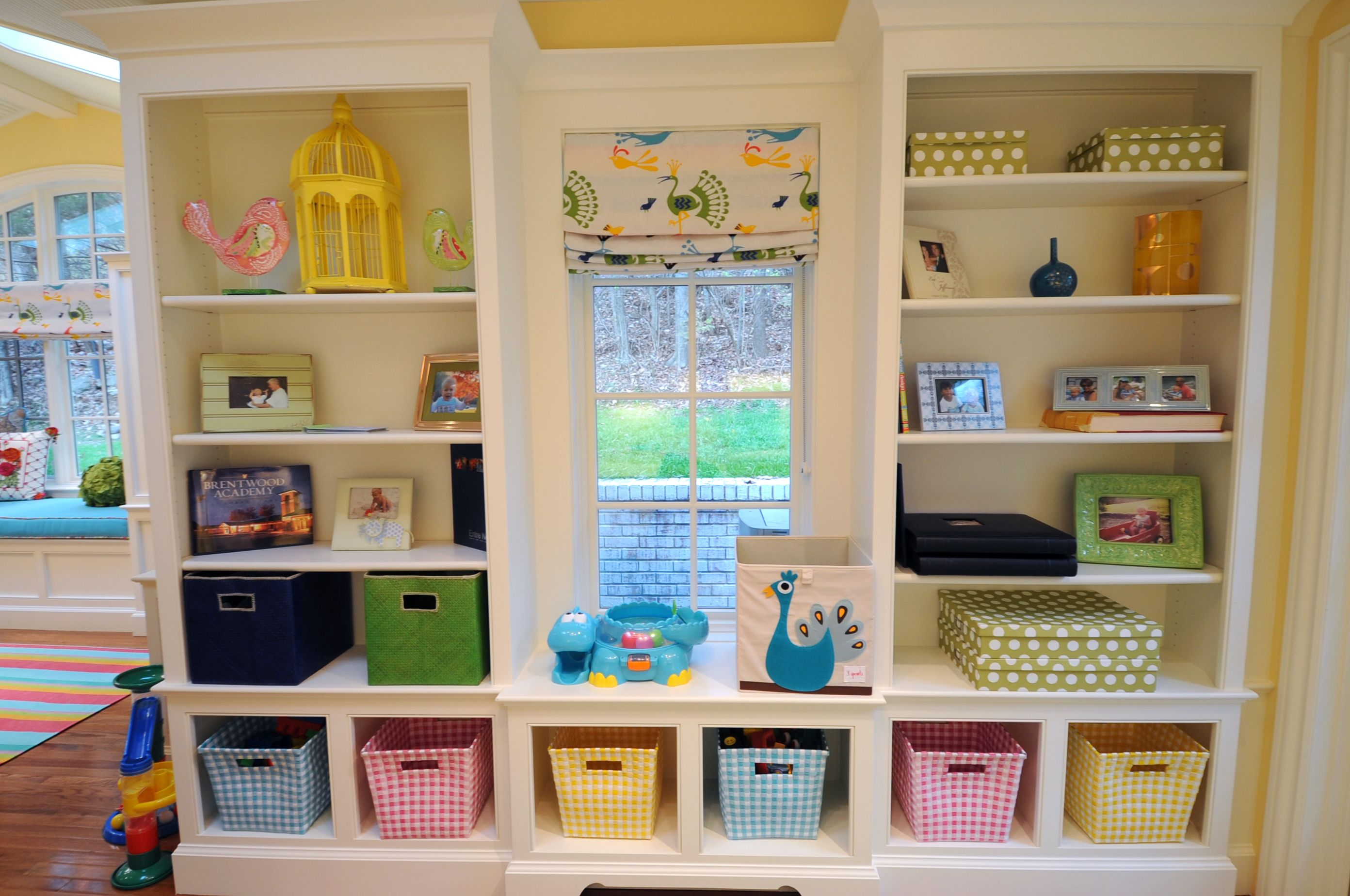 Built In Toy Storage Storage And Organization Toy Storage Playroom