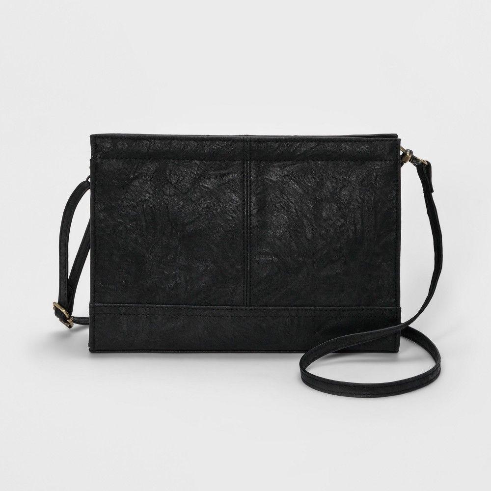 bc9dbaa6c6c Bueno Veg Tan Crossbody Bag - Black, Women's, Size: Small Black Cross Body