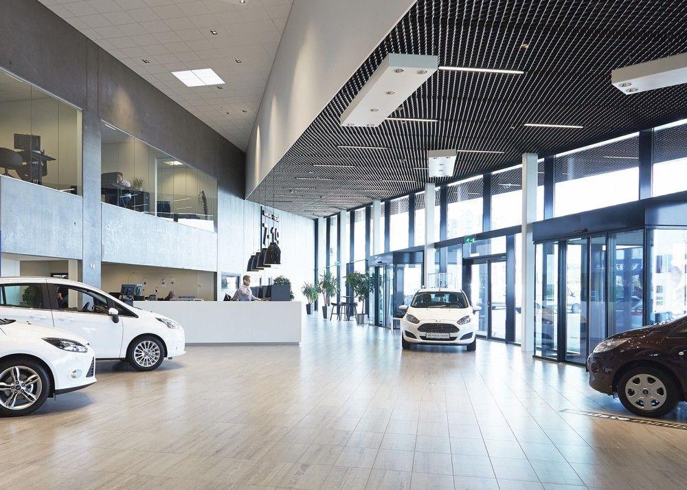 Gallery Of Automotive Showroom In Herning Krads 8 Arquitectura