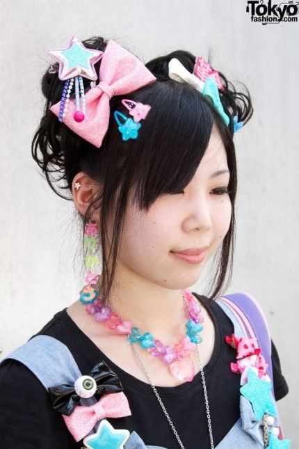 Clips Harajuku Hair Hair Clips Cute Hairstyles