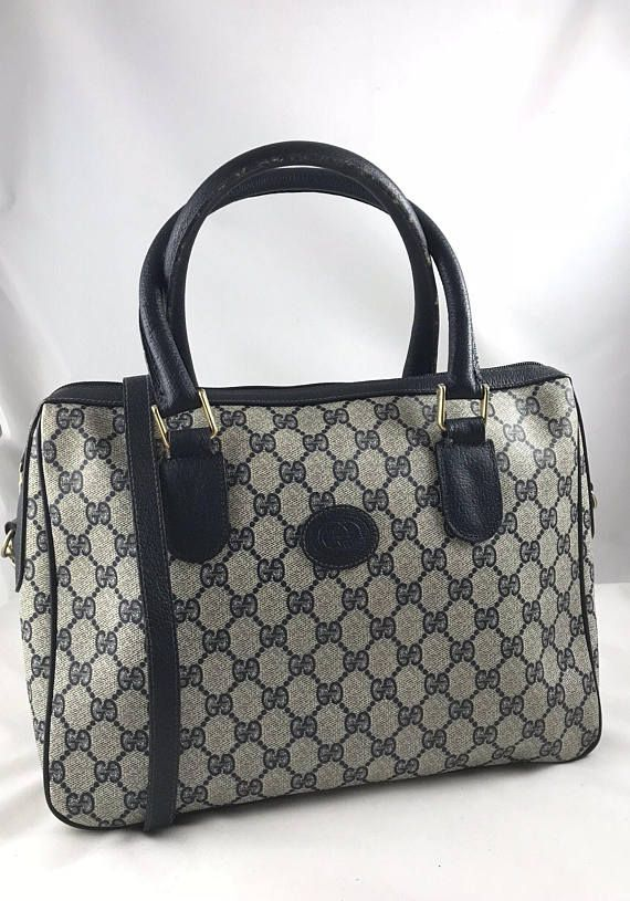Authentic Vintage Gucci Handbag Shoulder Bag