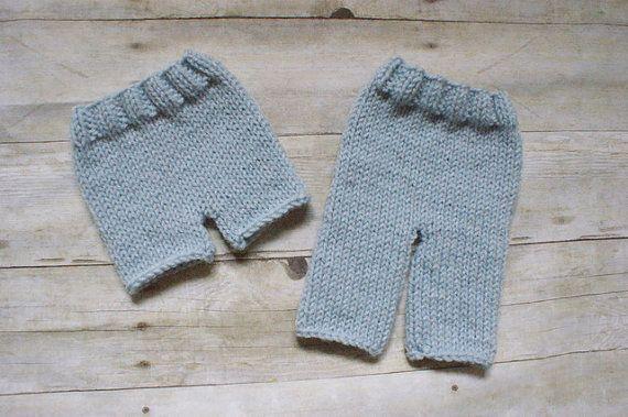KNITTING PATTERN Pants and Shorts - newborn, baby, printable ...