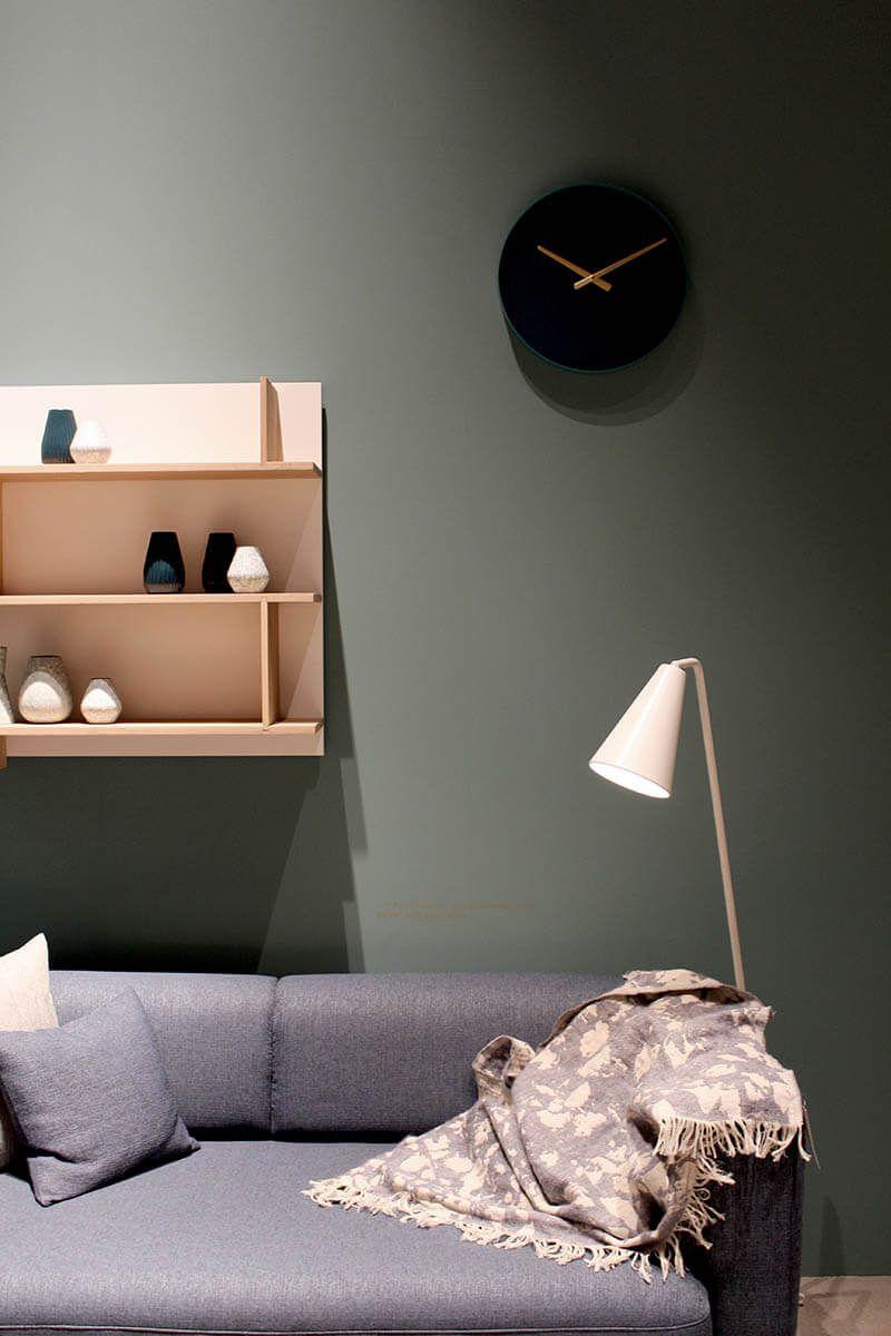 Hell dunkel quietschbunt das sind die trendfarben der imm wohnen interior pinterest - Wandfarbe oliv ...