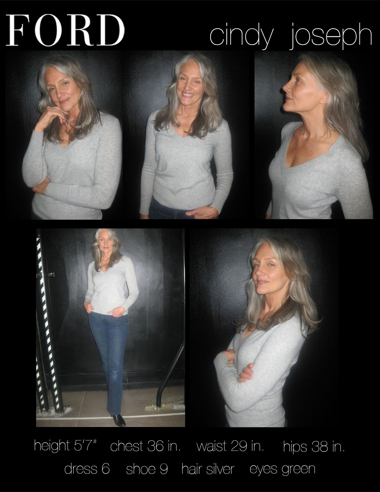 Cindy Joseph Ford Model Aging Gracefully Ageless