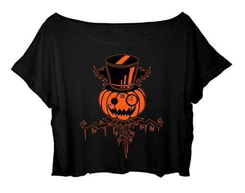 Women's Crop Top Halloween T-Shirt Happy Halloween Shirt (Black) http://www.amazon.com/dp/B015KOWPQM/ref=cm_sw_r_pi_dp_xBx.vb0Z1929T