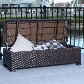 Elegant Christopher Knight Home Santiago Brown Wicker Storage Ottoman |  Overstock.com Shopping   The Best