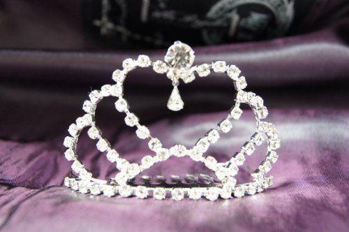 Beautiful Bridal Wedding Tiara Crown Crystal « Dress Adds Everyday