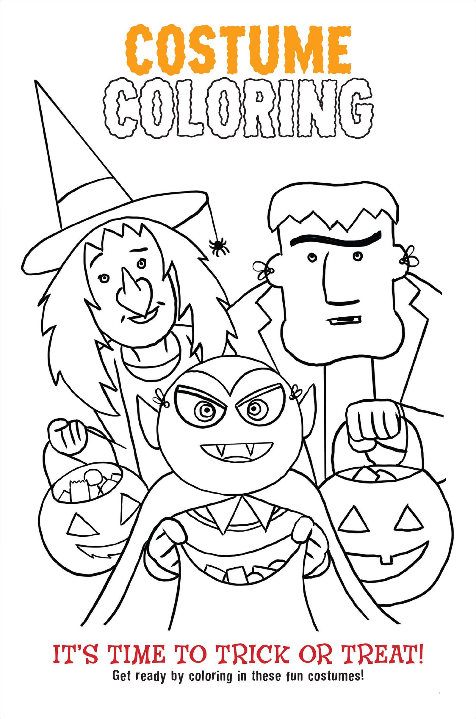 This Book Is Haunted A Halloween Joke Activity Book Coloring Page Halloween Jokes Halloween Coloring Book Book Activities
