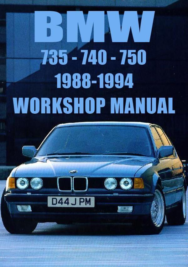 bmw e32 735i 735il 740i 740il 750il 19881994 workshop manual rhpinterest:  1988 e32 wiring diagram
