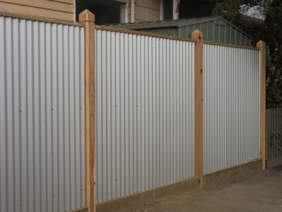 Corrugated Iron Fence Iron Fence Corrugated Metal Fence Fence