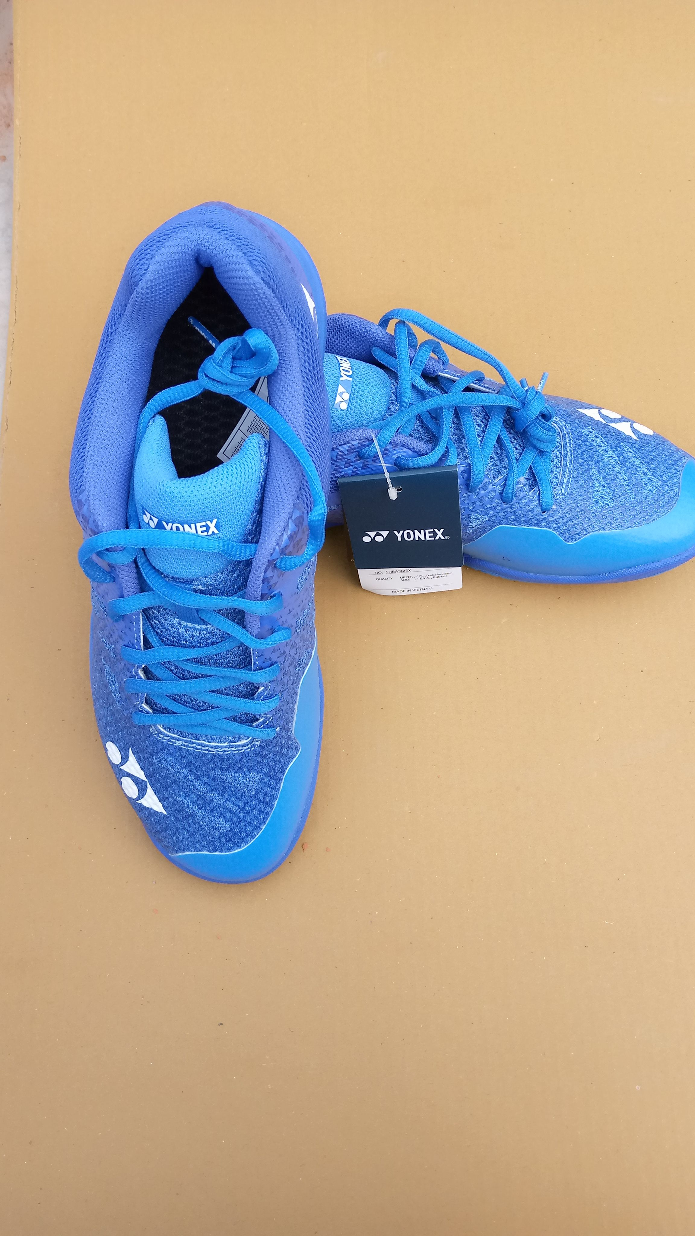 5243f5f97b7 Yonex has launched SHB Aerus 3 Badminton Shoes model in Blue color with a  high level