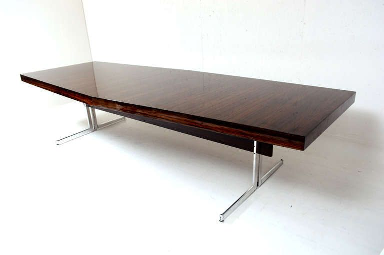Http Www 1stdibs Furniture Tables Conference Mid Century Modern Rosewood Table Id F 928120