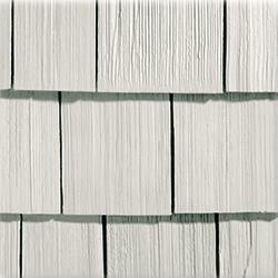 Strongside Vinyl Siding Premium Roughsawn Shakes Harbor Stone Roughsawn Shake Panels 8 1 2 X8 6 Vinyl Siding Vinyl Shake Siding Vinyl Shingle Siding